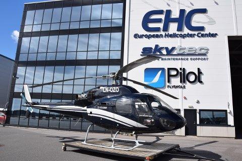 European Helicopter Center har Norges eneste helikopterskole, men nå risikerer selskapet å flagge ut fra Sandefjord Lufthavn.
