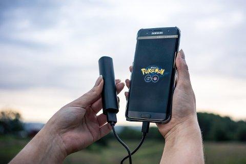 Pokemon Go-feberen har ført til rekordsalg av ekstrabatterier.