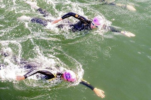 Stadig flere driver med open water, det vil si svømming i hav, elver og innsjøer.