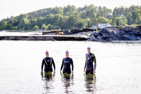 Annette Moldrup Pedersen, Ann Johnsen og Pål Fritsvold skal alle delta i noen av sommerens open water-konkurranser.