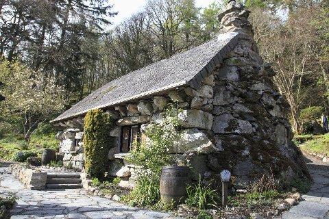 Ty Hyll, bedre kjent som The Ugly House, er et fint stoppested i Snowdonia.
