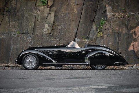 Det skal bare ha blitt laget tolv av denne Alfa Romeo-modellen.