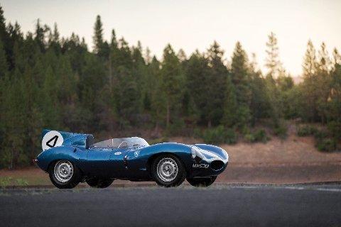 Denne Jaguar D-type skal være den eneste av de La Mans vinnende C- og D-typene som ikke har vært igjennom omfattende reparasjoner siden den var ny.
