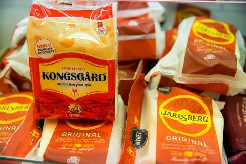 FIKK MEDHOLD: Tine har fått rettens medhold i at Synnøve Findens nye ost Kongsgård ikke kan markedsføres som «av jarlsbergost-type».