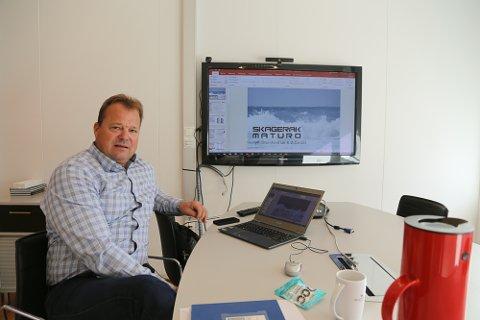 Espen Kjeldsen og Skagerak Maturo forvalter et nytt såkornfond og leter etter bedrifter de kan investere i, blant annet i Vestfold.