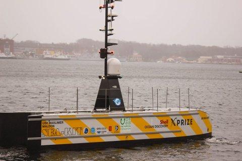 TESTOMRÅDE: I Horten er det spennende aktører som utvikler teknologi for autonome fartøy. Nå opprettes Breiangen og Indre havn som et testområde for autonome fartøy i Horten.