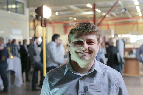 MASTER OM 3D-PRINTING: Tobias Rønneberg har forsket på 3D-printing i sin mastergrad på NTNU.