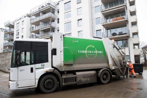 Søndag ble det klart at Oslo kommune overtar søppelhentingen fra Veireno. Foto: Håkon Mosvold Larsen / NTB scanpix