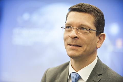 KONSERNSJEF: Stokke-mannen Geir Håøy er øverste leder i Kongsberg Gruppen.