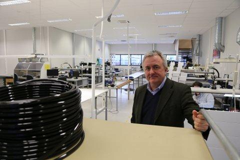 BRUKER SKATTEFUNN AKTIVT: Økonomisjef Tor Ivar Kolpus sier Skattefunn har gjort det mulig for Fosstech å drive innovasjon og nyskaping i tøffe tider for bedriften.