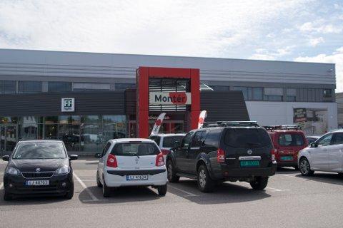 RAMMET: Montér Tønsberg og samtlige andre egeneide Montér-butikker er rammet av hackerangrepet.
