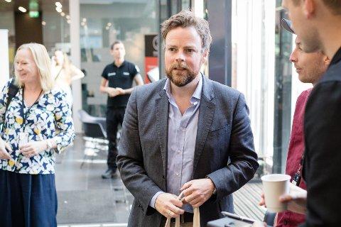 Kunnskapsminister Torbjørn Røe Isaksen (H) presenterte utdanningstallene fra Samordna opptak onsdag.