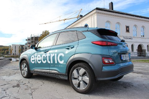 I TIDEN: Kombinasjonen elbil og «SUV-look» gjør Kona Electric til en spennende nykommer.