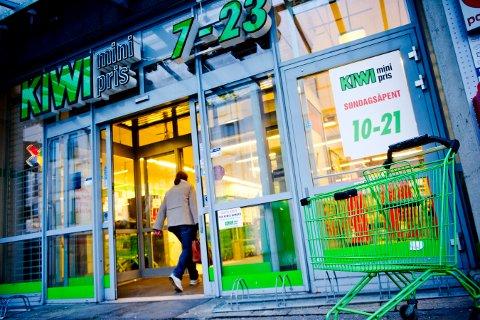 FLERE KUNDER: Flere kunder velger Kiwi og andre butikker i Norgesgruppens kjeder.