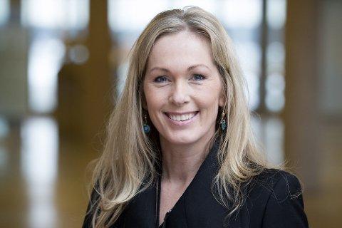 FRA SANDEFJORD: Sandefjord-kvinnen Anita Krohn Traaseth er administrerende direktør i Innovasjon Norge.