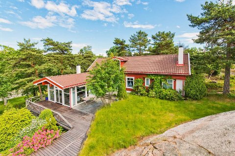 ATTRAKTIV BELIGGENHET: – I dette tilfellet er det beliggenheten som er den største faktoren, sier eiendomsmegler Håkon Syslak.