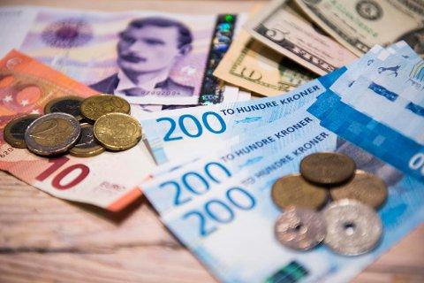 Om noen få dager tikker skattepengene inn. Foto: Jon Olav Nesvold/NTB scanpix