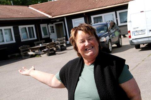 PÅ FLYTTEFOT: Nina Eide i lefsebakeriet Godt & Hjemmelaget ser fram til videre vekst i nye lokaler.