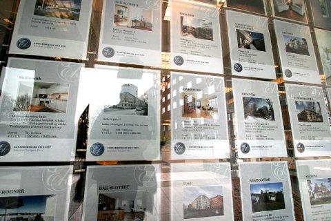 Flere eiendomsmeglere Nettavisen har snakket med melder om oppgang i omsetningen hittil i juli - tross rekordvarmen. Foto: Jarl Fr. Erichsen (NTB scanpix)
