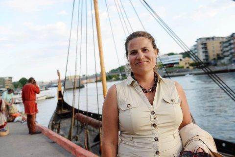 IKKE BARE ENKELT: Arkeolog Kjersti Jacobsen har støtt på mange utfordringer som vikingkoordinator for Vestfold Fylkeskommune.