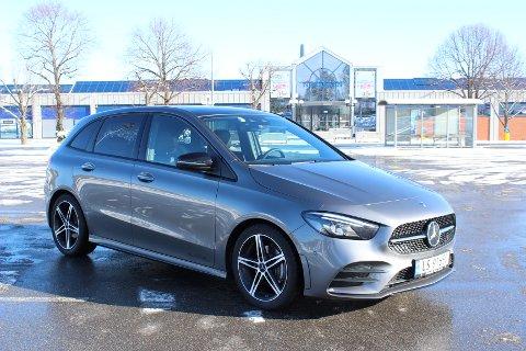 Premium-MPV: Mercedes B-klasse tilhører det øverste sjiktet av kompakte fleksibiler på markedet i dag.