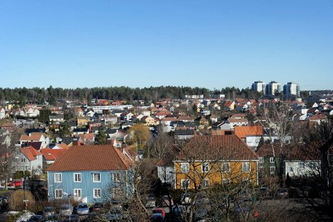 PÅ MARKEDET: Sparebank 1 Buskerud Vestfold lanserer en ny boligsalgstjeneste til fastpris, der kundene selv skal stå for visning.