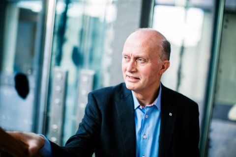 SE TIL VESTFOLD: Nikolai Boye, vikarierende NHO-sjef i Vestfold og Telemark, håper ordningen fra Vestfold taes videre inn i det nye fylket.