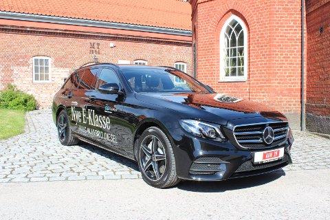 Teknologisk suveren: E-klasse er første modell som er utstyrt med den splitter nye hybridteknologien til Mercedes-Benz. Vi erfarte svært gode forbrukstall med E 300de. Startprisen er forholdsvis gunstig sett opp mot motorstørrelse, kjørekomfort og premiumopplevelse.