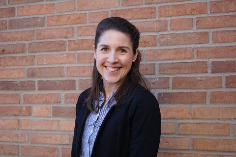FRA OSLO TIL TØNSBERG: Relativt nybakt mamma og leder for innovasjon i nyopprettet stilling. Kamilla har grunn til å smile.