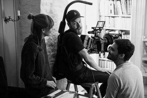 PÅ JOBB: Emilie Beck fra Nøtterøy jobber som regissør og serieskaper.