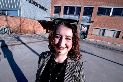 Karoline Lie er nestleder i arbeidsutvalget i Studentdemokratiet i Sørøst-Norge