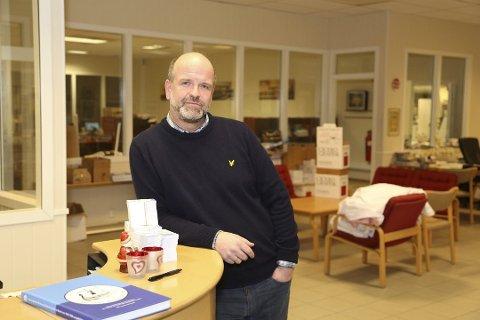 KRISEERFARING: Arne Bülow-Berntzen har ledet ansatte gjennom tøffe tider før. Han tror det skal gå bra denne gangen og.