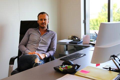 ETTERSPURT: Andreas Bjarøy kan konstatere at Bodhotell.no AS har hatt solid vekst etter den spede starten i 2014. I 2018 omsatte selskapet for nær 5 millioner kr gjennom sine lagerhoteller.
