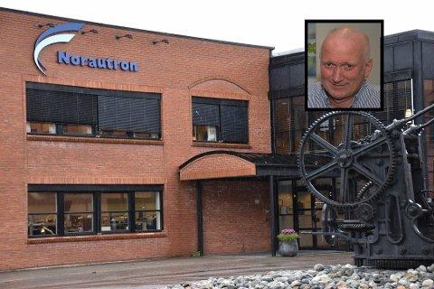 KLARER SEG GODT: Norautrons virksomhet i Horten går så det suser om dagen. Nye kontrakter sørger for at selskapet kan ansette enda flere.