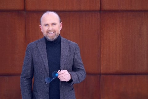 UTMERKELSE: Administrerende direktør Henrik Badin i Miljøteknologiselskapet Vow ASA vant hovedprisen blant 3900 kandidater.