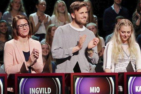 Mio Kristiansen fra Nesodden sikret seg tittelen som Norges Smarteste. FOTO: JULIA MARIE NAGLESTAD / NRK