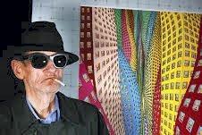 Pop-art: Det ventes mange kunstinteresserte når Terje Brofos, alias Pushwagner, åpner utstilling i Drøbak lørdag. Pressefoto