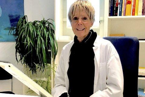 Fantastisk: – Jeg opplever at jeg har levd et fantastisk legeliv på Nesodden og i Norge, oppsummerer Anne Marie Zapffe etter 45 års innsats.