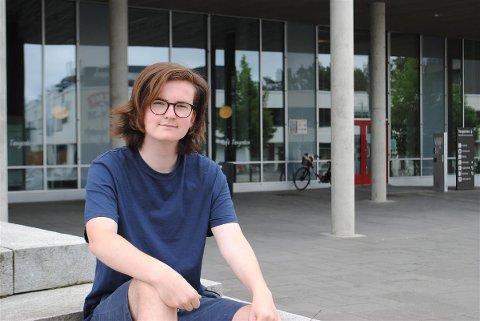 - Jeg tror også det at ungdommen driver det selv så mye som mulig vil gjøre det bedre, sier Syver Kleve Kolstad (17). foto: Torbjørn Andersen, Nesodden Kommune