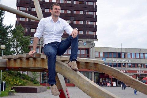 Per Martin Sandtrøen  er ny politisk rådgiver for Sp-leder Trygve Magnus Slagsvold Vedum.