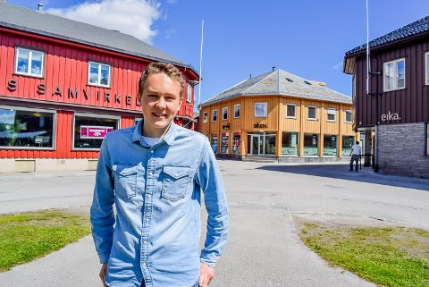 Elevrådsleder Oskar Tørres Lindstad