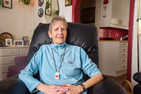 Svanaug Dølmo synes Tolga sykehjem fortjener ekstra ros etter at hun var der på avlastning i tre måneder etter et lårbeinsbrudd.