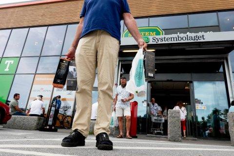 Systembolaget er en viktig motivasjonsfaktor for nordmenn på handletur i Sverige. Foto: NTB scanpix