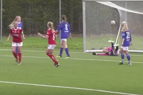 Stine Skogan scorte 3 mål borte mot Tolga-Vingelen/Os/Nansen