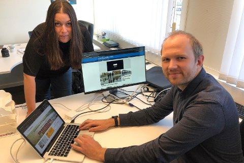 FELLES REDAKTØR: Ansvarlig redaktør i Alvdal midt i væla og Tynsetingen, Liv Maren Mæhre Vold, er fra og med i dag også konstituert som redaktør i Folldalsportalen. Lars Vingelsgård jobber som journalist for alle de tre nettavisene.
