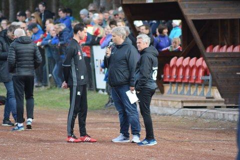 ET HØYDEPUNKT: Tynsets oppgjør mot Rosenborg i 2. runde i cupen i 2017 er ett av tre høydepunkter Mats Lund trekker fram etter fem sesonger som tynsettrener.
