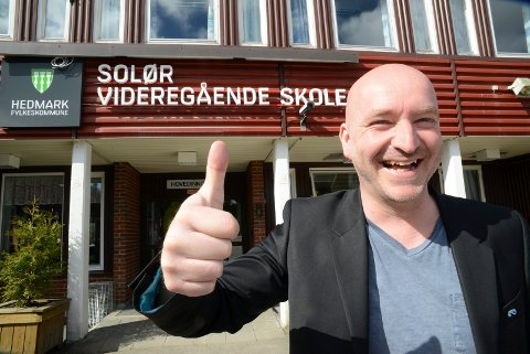 NY SJEF: Einar Moan, som nå er rektor ved Solør videregående skole, tar over som rektor ved Elverum videregående skole etter påske.