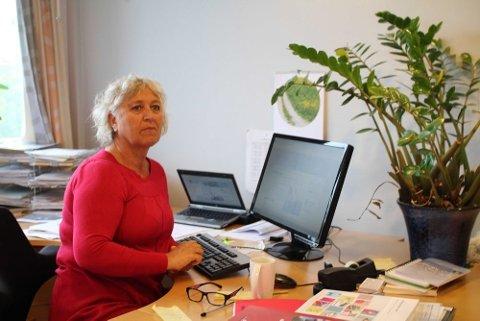 BLIR PENSJONIST: Trine Christensen skal i løpet av sommeren gå av med pensjon. Ås kommune søker nå hennes etterfølger.