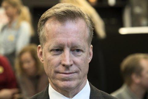GODT BETALT: Rektor Curt Rice,  rektor ved Oslo Met, blir ny rektor på NMBU. Rice har forhanldet seg frem til en årslønn på 1,7 millioner kr.