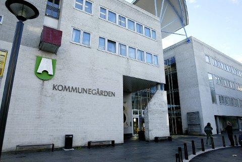 AKSJON: Politiet aksjonerte i Sandvika.